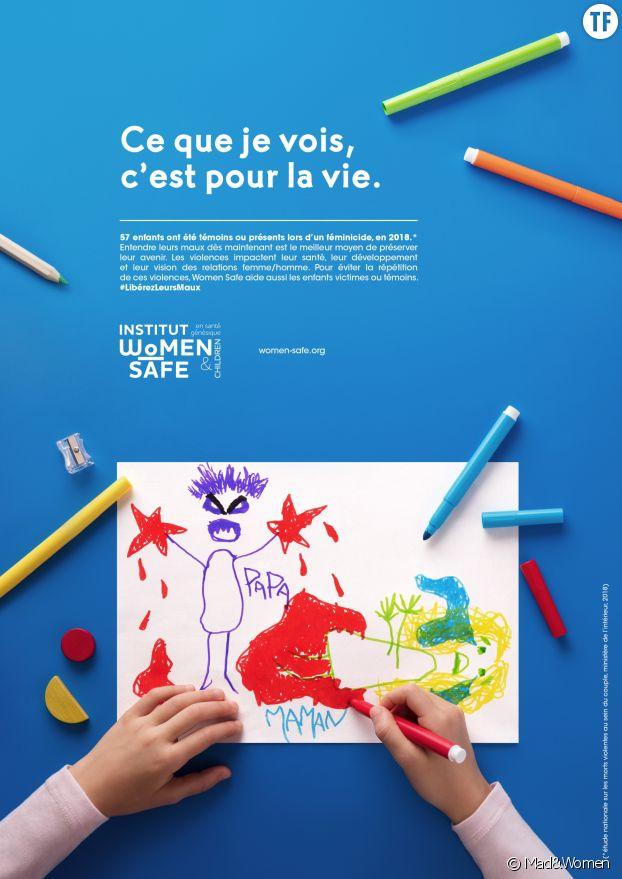 Campagne Women Safe pour protéger les enfants victimes ou témoins de violences conjugales