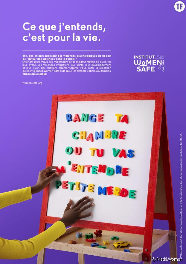 Campagne de l'association Women Safe