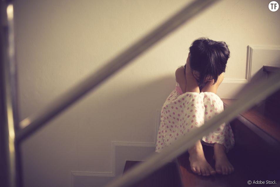 Enfant victime ou témoin de violences conjugales/illustration