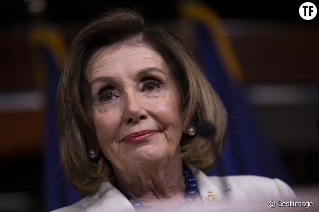 Nancy Pelosi, numéro trois.
