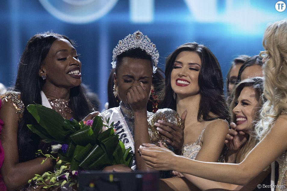 Zozibini Tunzi, la victorieuse Miss Universe.