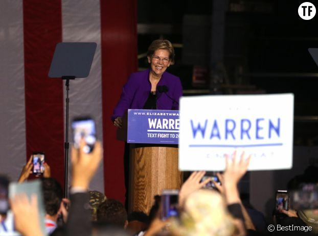 Elizabeth Warren sera-t-elle la première présidente de l'histoire des Etats-Unis ?