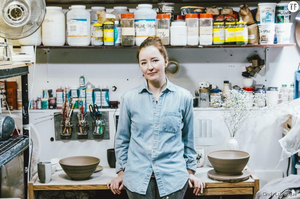 La céramiste Cindy Labrecque