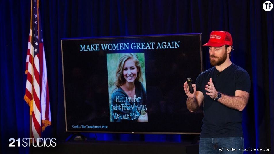 "L'événement ""Make Women Great Again"" de la 22 Convention."