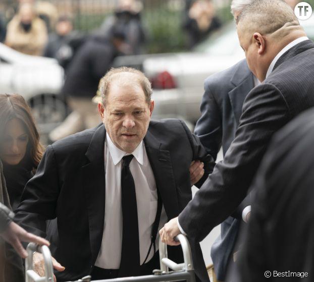Harvey Weinstein, à l'ouverture de son procès.