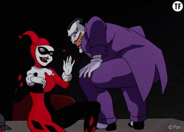 """""""Batman, la série animée"""" et l'emblématique Harley Quinn."""