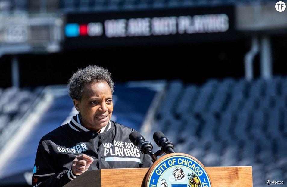 La maire Lori Lightfoot, politicienne et engagée.