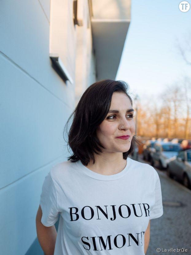 L'autrice Julia Korbik déclare sa flamme à la grande Simone.