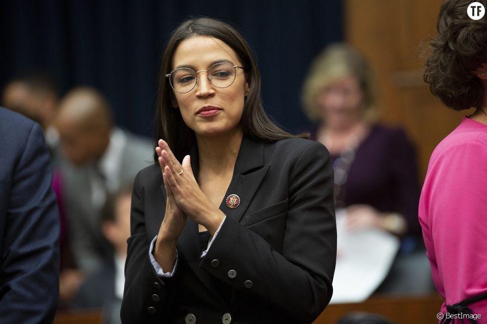 Alexandria Ocasio-Cortez et son makeup politique.