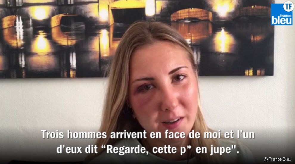 A France Bleu, Elisabeth témoigne de son agression.