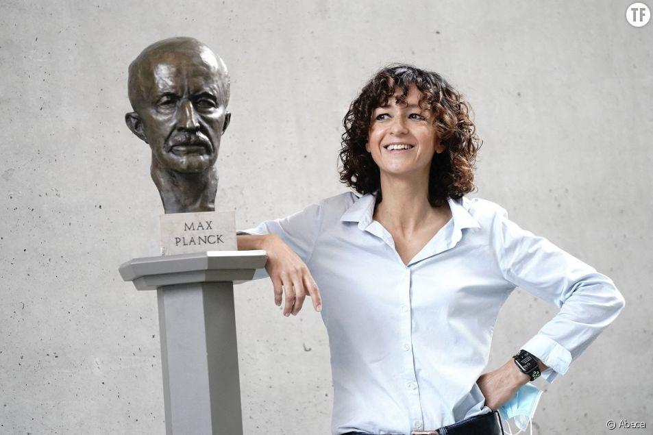 La Française Emmanuelle Charpentier, lauréate du Prix Nobel.