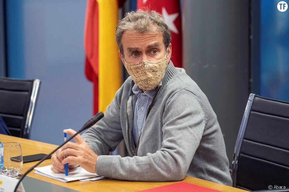 Fernando Simon, épidémiologiste en chef en Espagne.