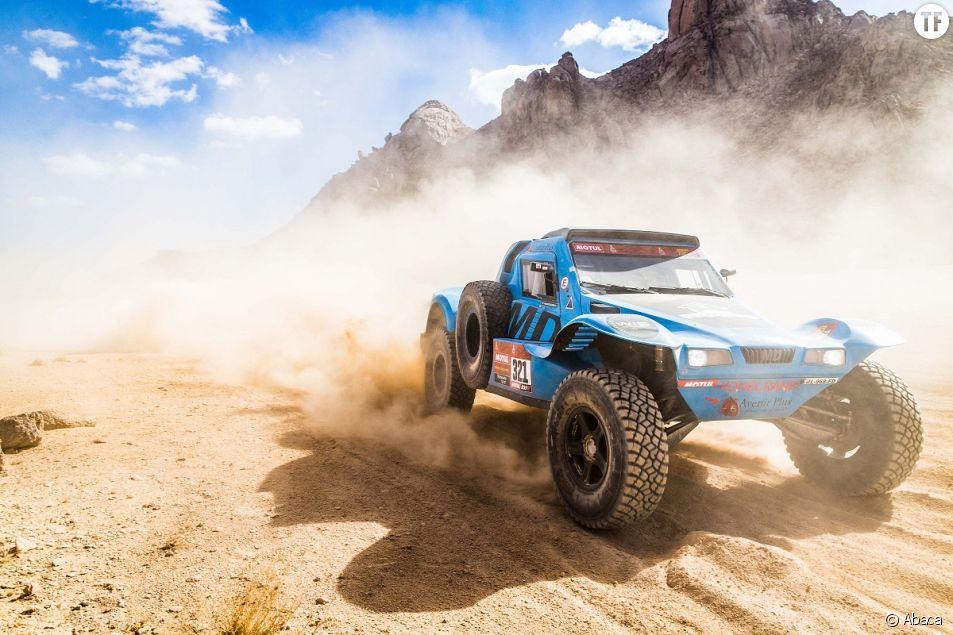 Photographie du Rallye Dakar le 6 janvier 2021.