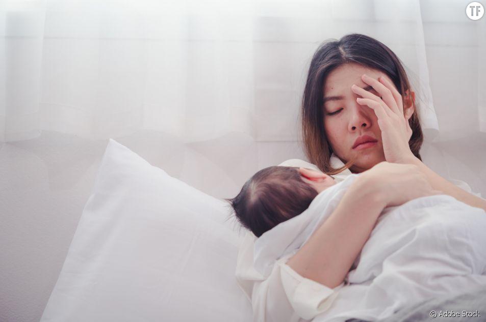 Dépression post-accouchement