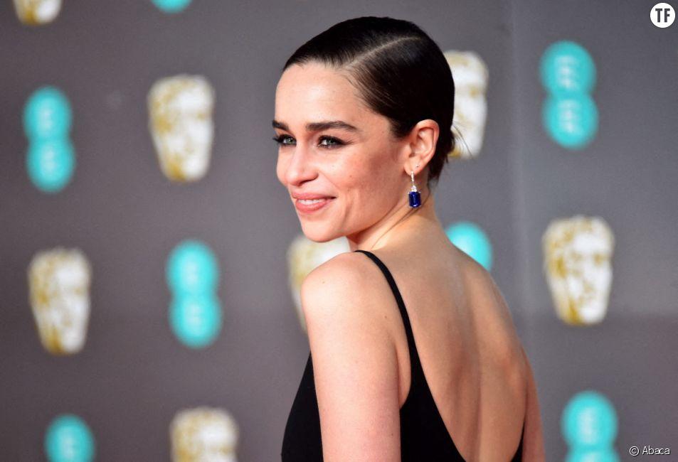"""Emilia Clarke le dimanche 2 février 2020. La Daenerys de """"Game of Thrones"""", va publier une étonnante BD féministe"""