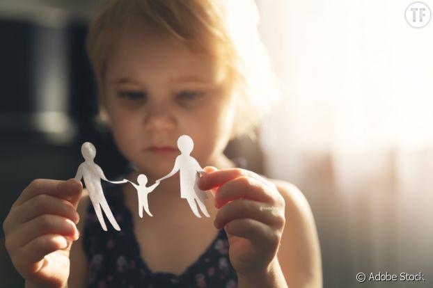 Annoncer une séparation à un enfant