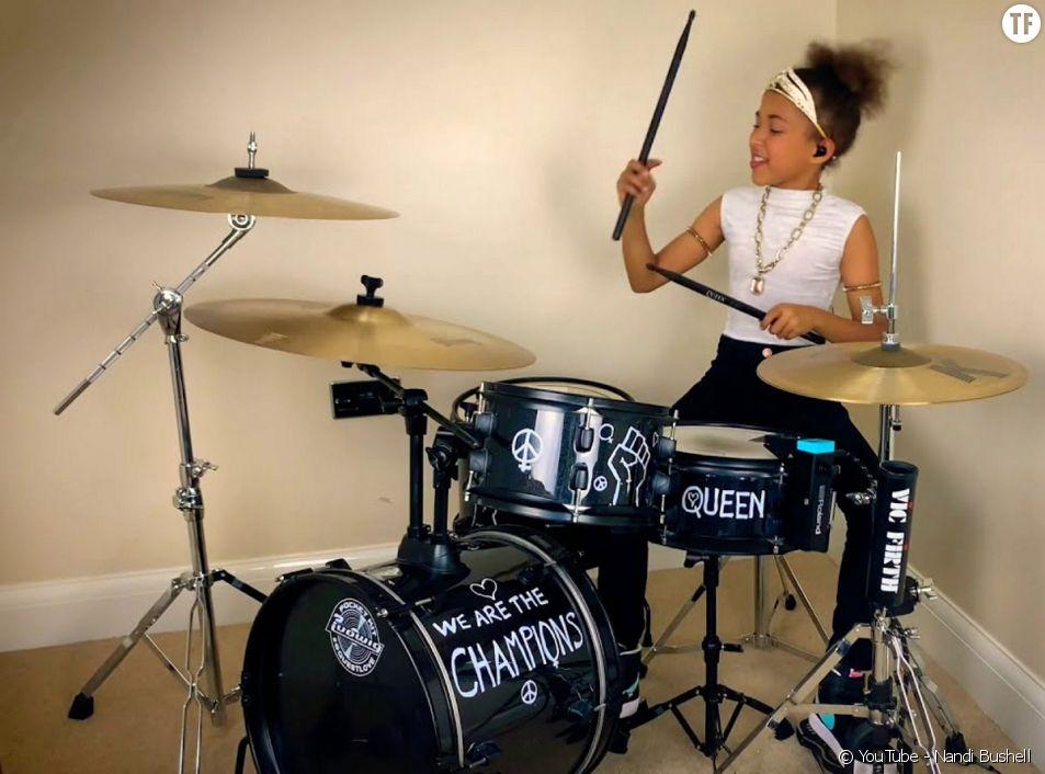 6 jeunes qui veulent changer le monde. Ici, Nandi Bushell, la rockstar antiraciste.