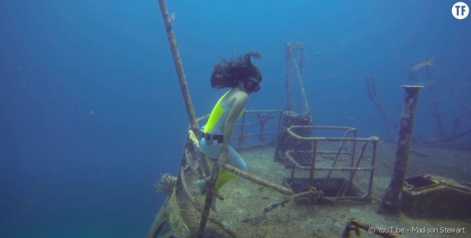 Madison Stewart, documentariste et activiste qui défend la cause des requins. Photo : chaîne YouTube de Madison Stewart.