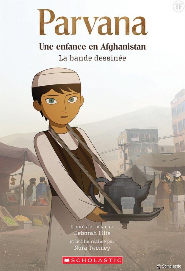 """""""Parvana, une enfance en Afghanistan"""" de Deborah Ellis, un roman et une bande dessinée."""