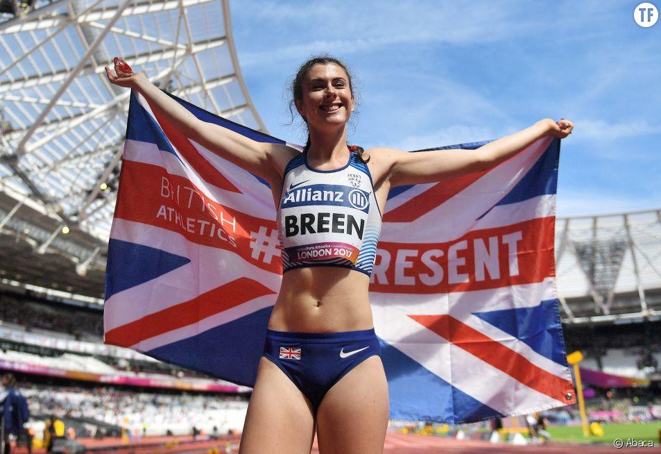 L'athlète Olivia Breen portera avec fierté sa culotte qui dérange aux Jeux paralympiques