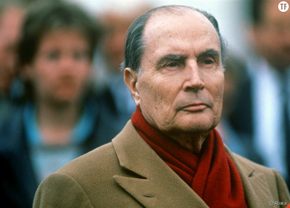 François Mitterrand le 4 avril 1989