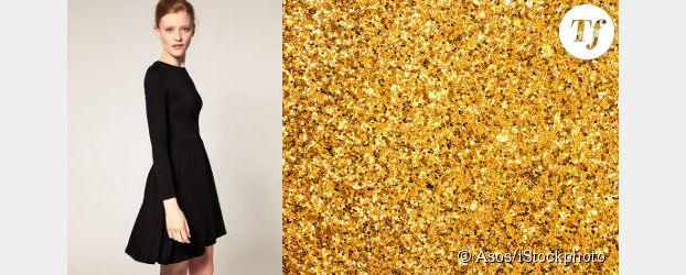 Tenue de fête express : misez sur un accessoire glitter
