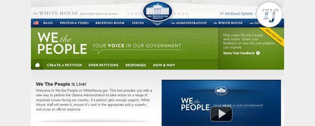 We the People : la pétition politique selon Barack Obama