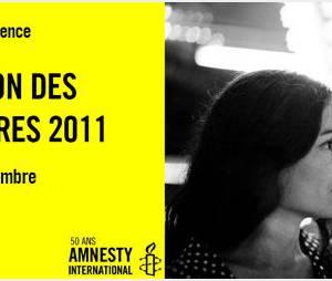 Brisez la loi du silence : Amnesty lance le Marathon des signatures avec Yael Naïm
