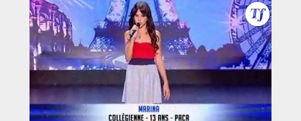 Marina Dalmas, gagnante d' « Incroyable talent » a 13 ans - Interview Vidéo
