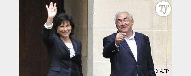 Anne Sinclair, sacrée femme de l'année devant Christine Lagarde et Martine Aubry