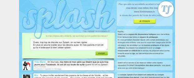 Splash : les enfants ont leur Facebook