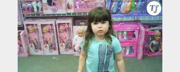 Sexisme : Le coup de gueule de Riley dans un magasin de jouets (Vidéo)