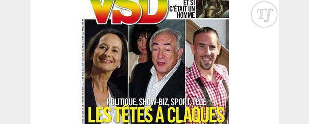 Ségolène Royal : sacrée « tête à claques de l'année » par VSD devant DSK et Eva Joly
