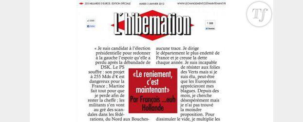 Libération et François Hollande : l'UMP soulève la polémique