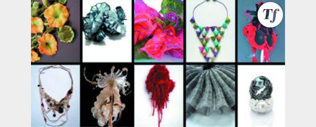 L'exposition Bijoux textiles, au fil de la parure, à Lyon