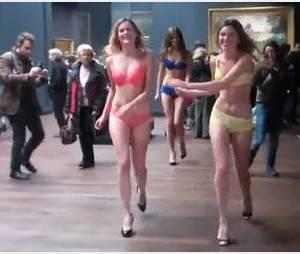 Etam : le défilé culotté fâche le musée d'Orsay - Vidéo
