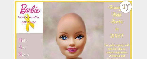 Mattel : bientôt une Barbie chauve ?