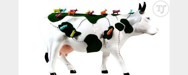 Une femme de cœur à la tête de la Bordeaux Cow Parade
