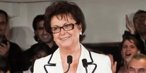 Christine Boutin, candidate du Parti chrétien-démocrate