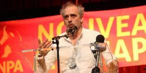 Philippe Poutou, candidat du Nouveau parti anticapitaliste