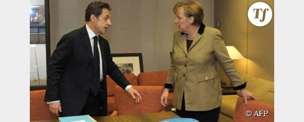 Rencontre Merkel-Sarkozy à l'Elysée et à la télé