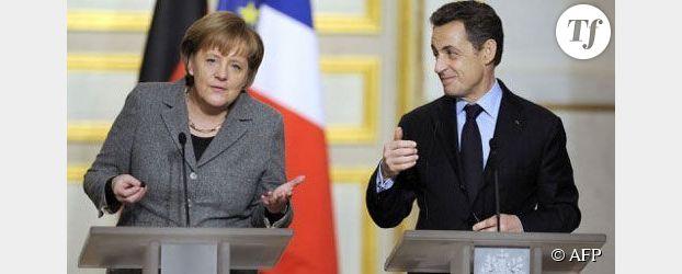 Présidentielle : Merkel apporte son soutien à Sarkozy