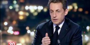 Nicolas Sarkozy sur France 2 : prime pour l'emploi, allègement des charges