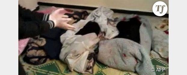 Syrie, le choc : les femmes et les enfants martyrs de Homs