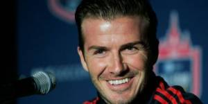 David Beckham dérange chez H&M