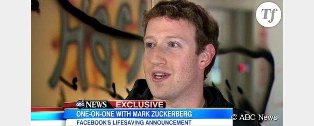 Facebook : nouveau statut « donneur d'organes »