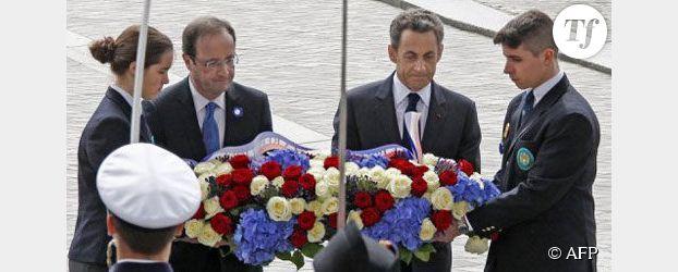 Cérémonie du 8 mai : parenthèse républicaine pour F.Hollande et N. Sarkozy