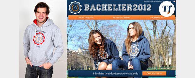 « Bachelier 2012 » : le sweat de promo pour les lycéens