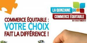 Quinzaine du Commerce Equitable : consommez responsable !