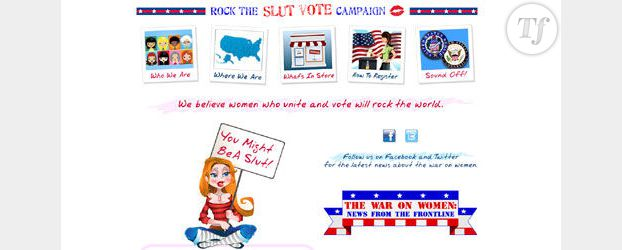 USA 2012 : Rock the slut vote, aux urnes les salopes !